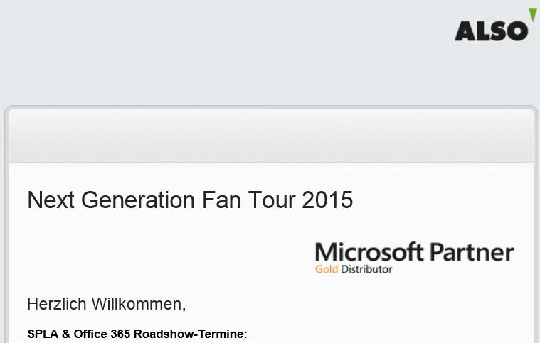 Next Generation Tour 2015