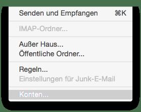OSX Outlook Freigegebene Postfächer 2