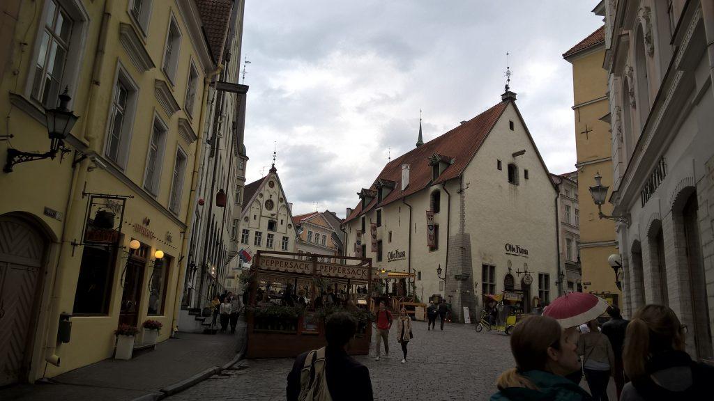 Tallins Innenstadt mit dem Microsoft Freundeskreis und ALSO