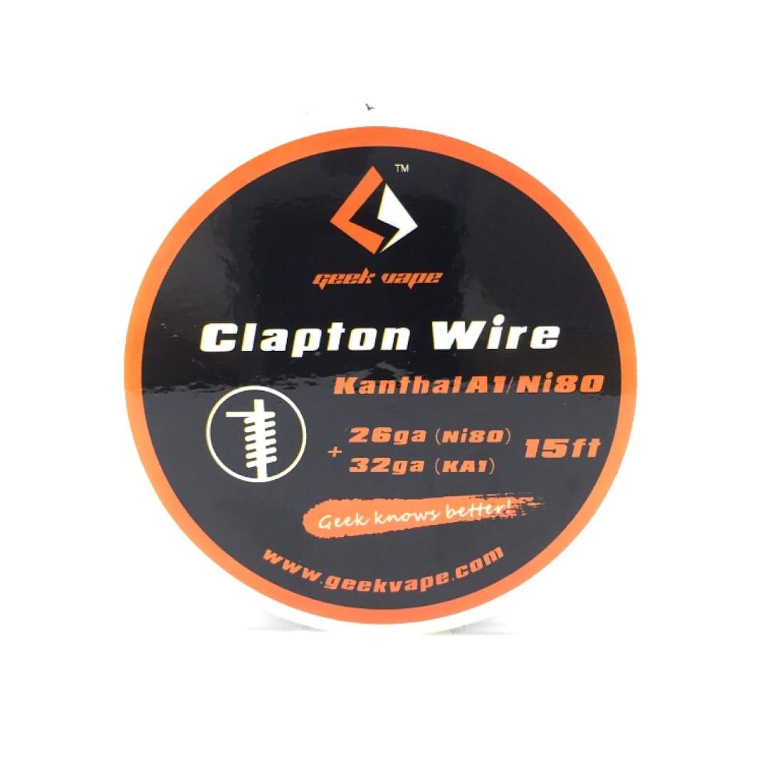 GeekVape Wickeldraht Kanthal Clapton 26GA Ni80 / 32GA 5 Meter
