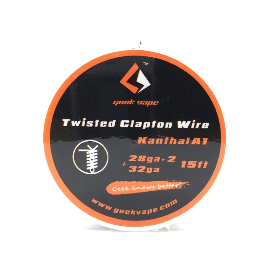 GeekVape Wickeldraht Twisted Clapton 2x28GA/32GA 5 Meter