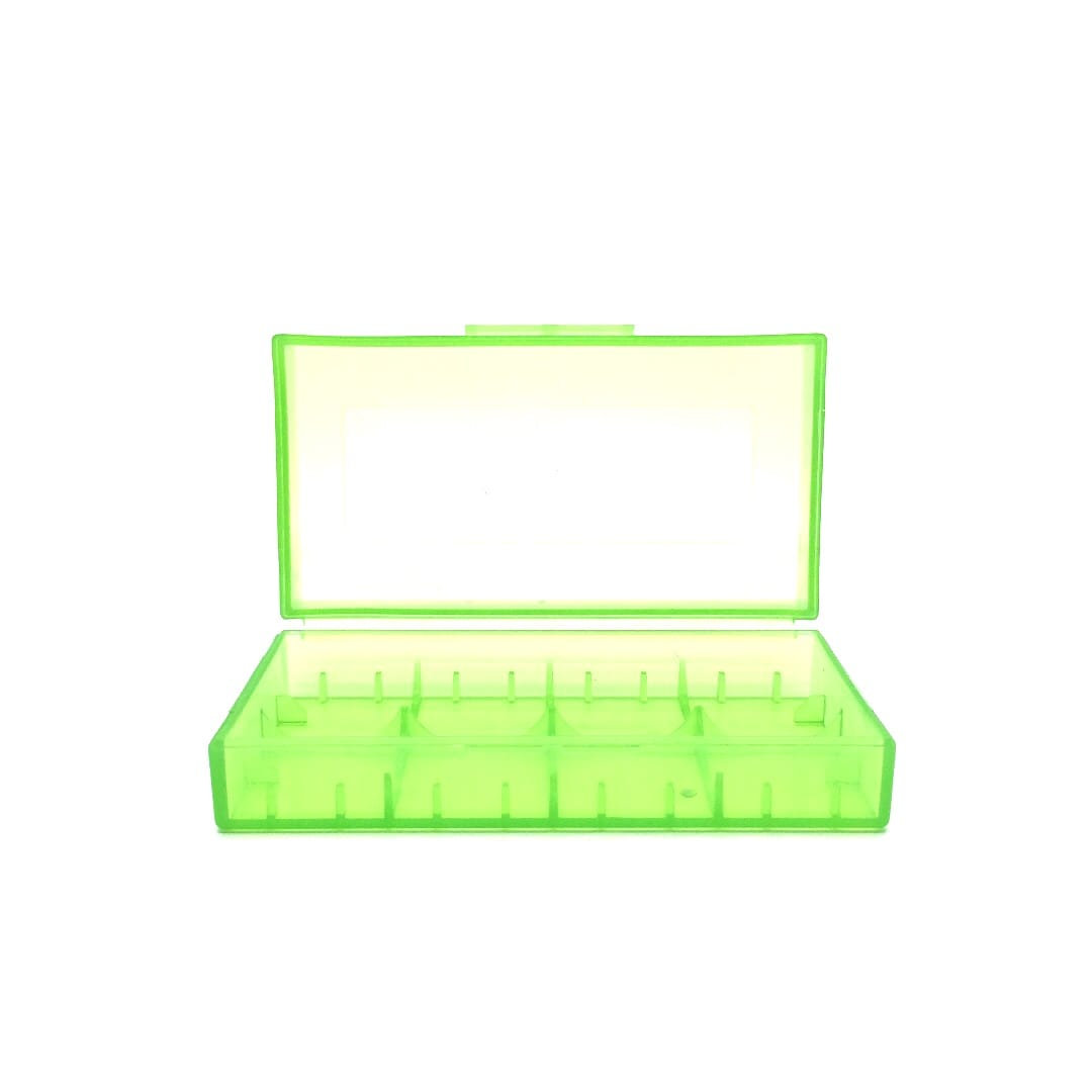 Aufbewahrungsbox für Akkus (2 x 18650 oder 4 x 18350)