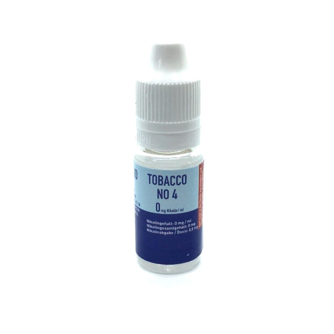 Liquid-NRW Erste Sahne Tobacco No. 4 Liquid 10 ml