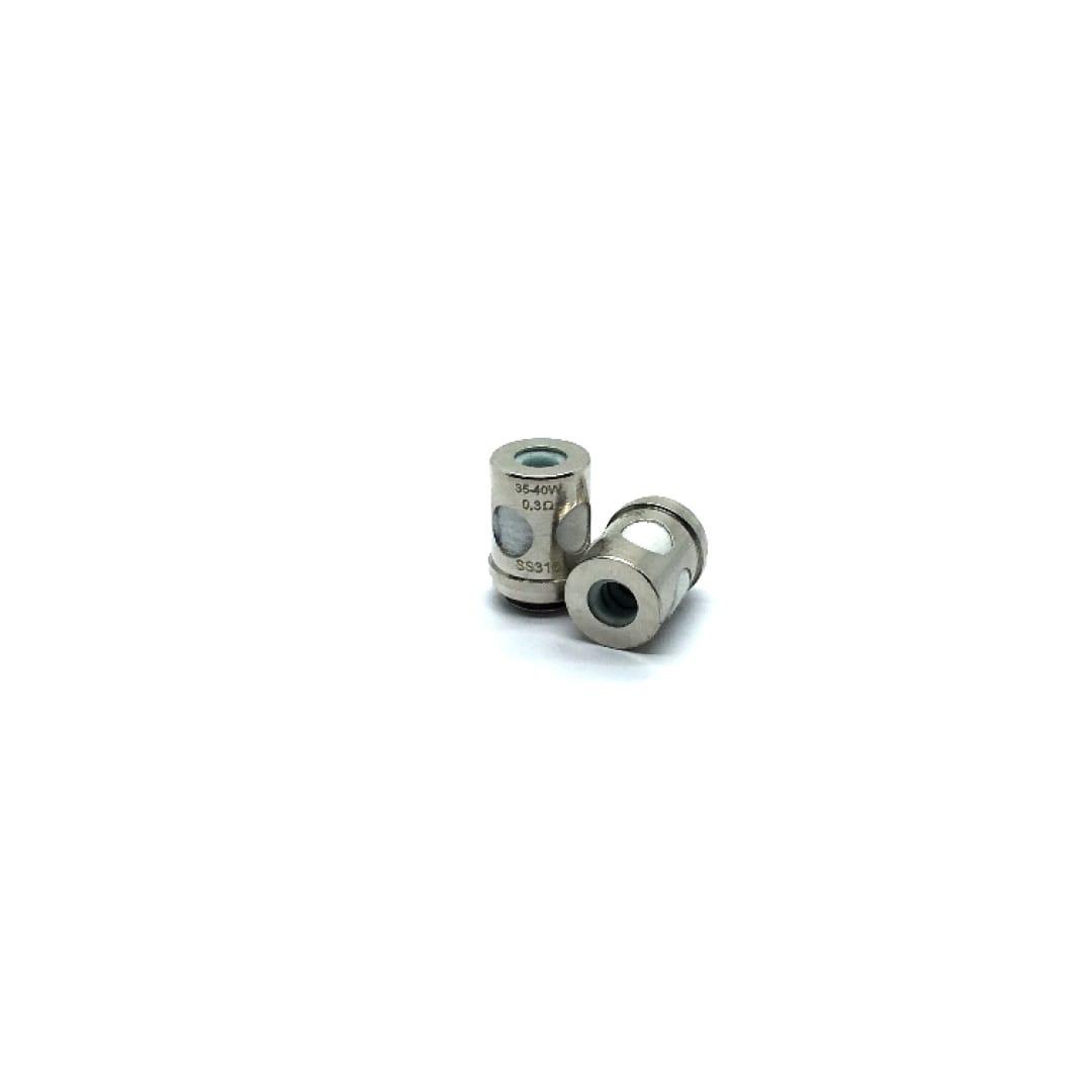 Vaporesso EUC Keramik Verdampferköpfe 0.3/0.5 Ohm 5er Pack