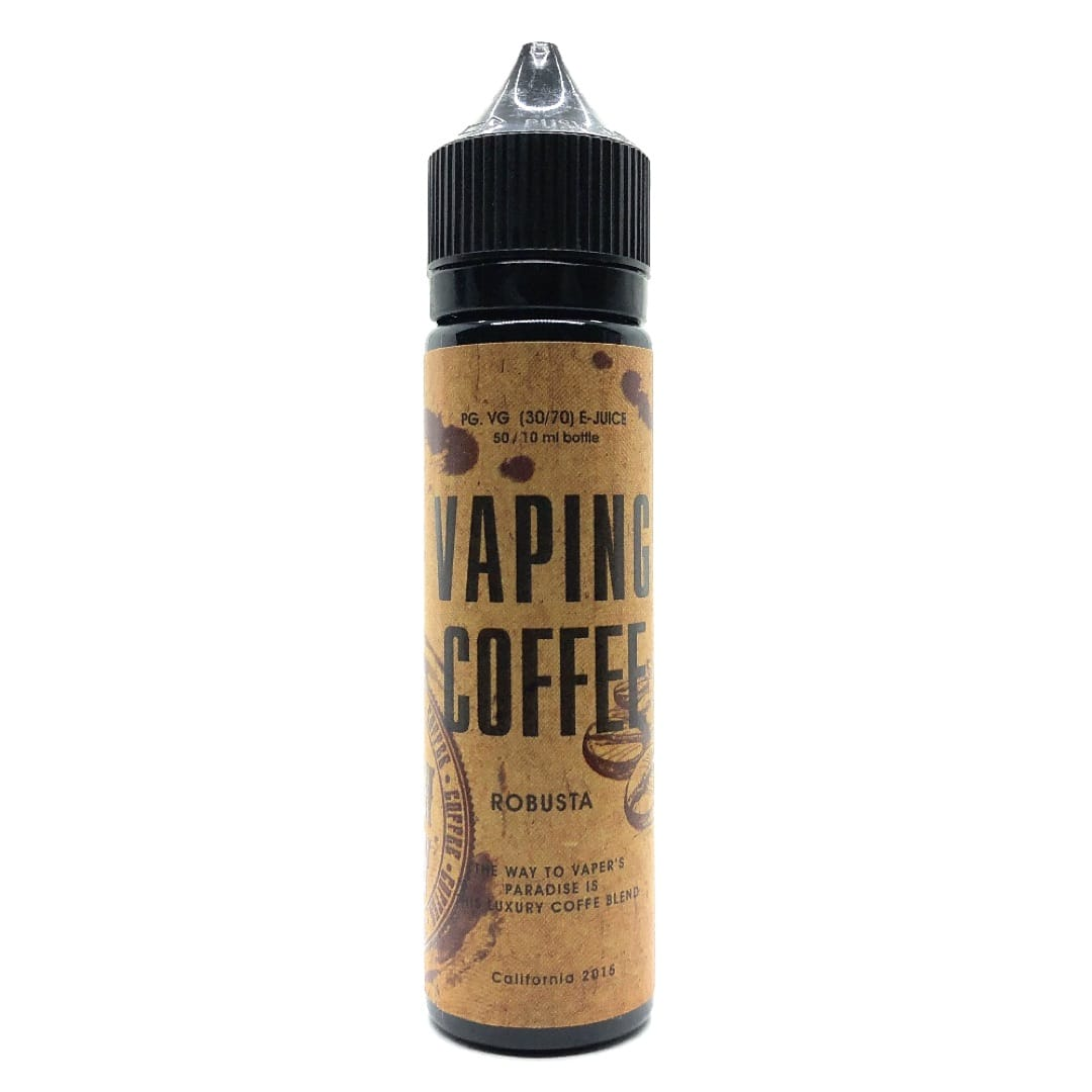 VoVan Vaping Coffee Robusta ShortFill Premium Liquid 50 ml