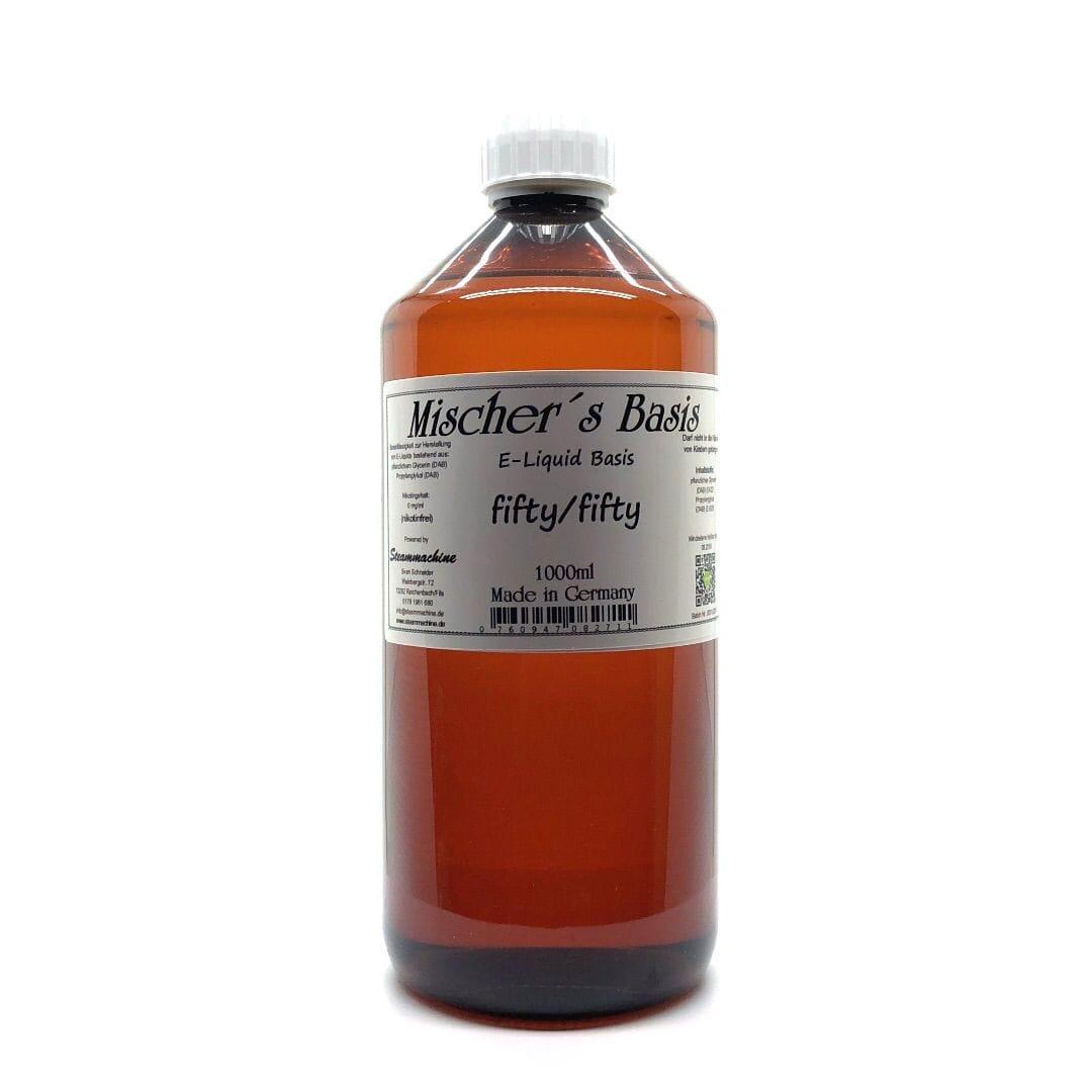 Steammachine Mischer´s Basis 1000 ml ohne Nikotin (verschiedene Mischungen)