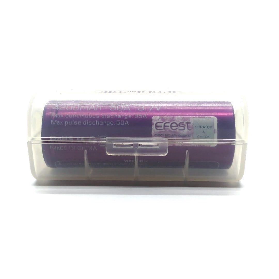 Aufbewahrungsbox für Akkus (1 x 26650)