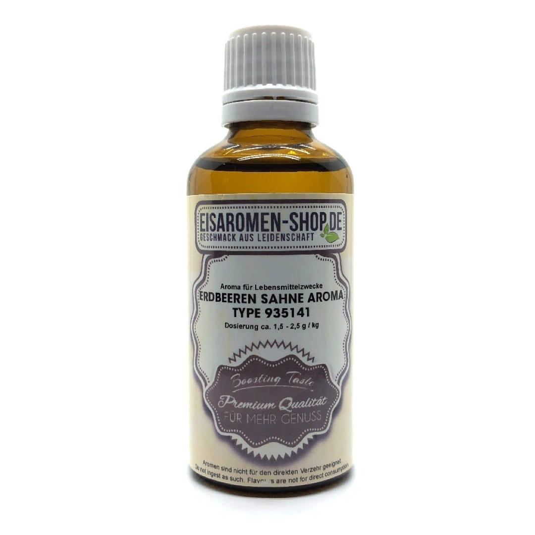 Eisaromen Erdbeeren Sahne Aroma (935141) 50 ml
