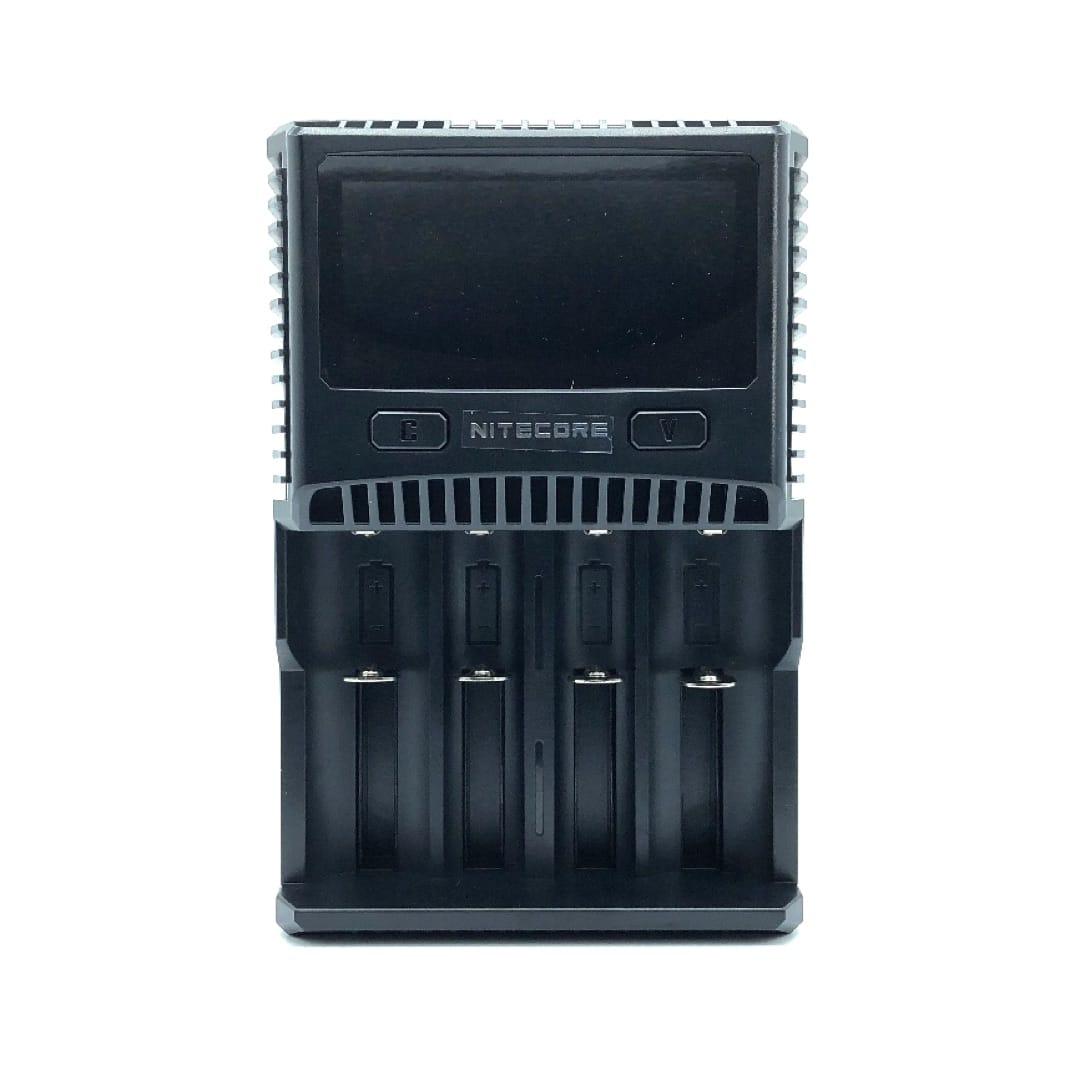 Nitecore Superb Charger SC4 4-Schacht-Schnellladegerät