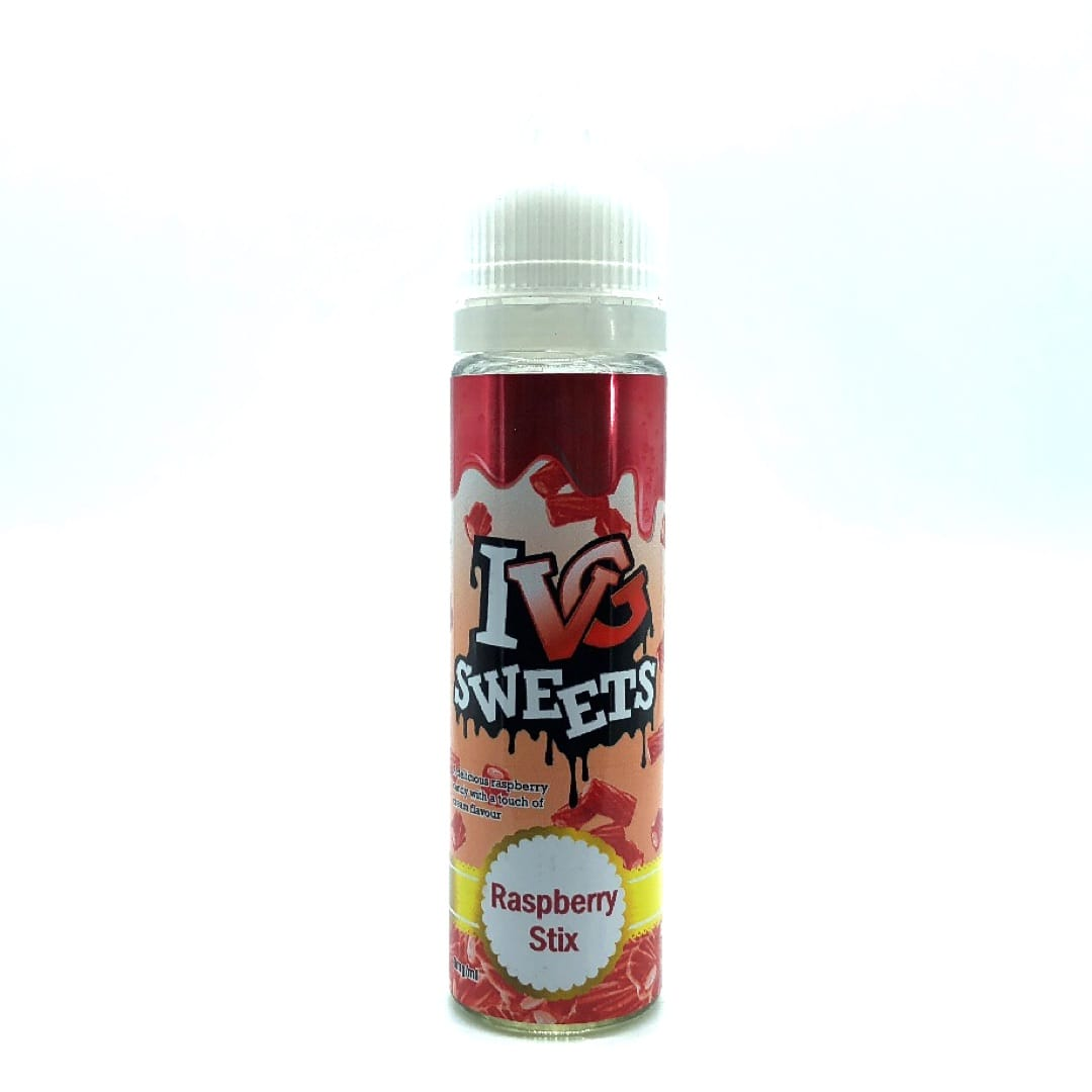 I VG Sweets Raspberry Stix Shortfill Liquid 50 ml für 60 ml