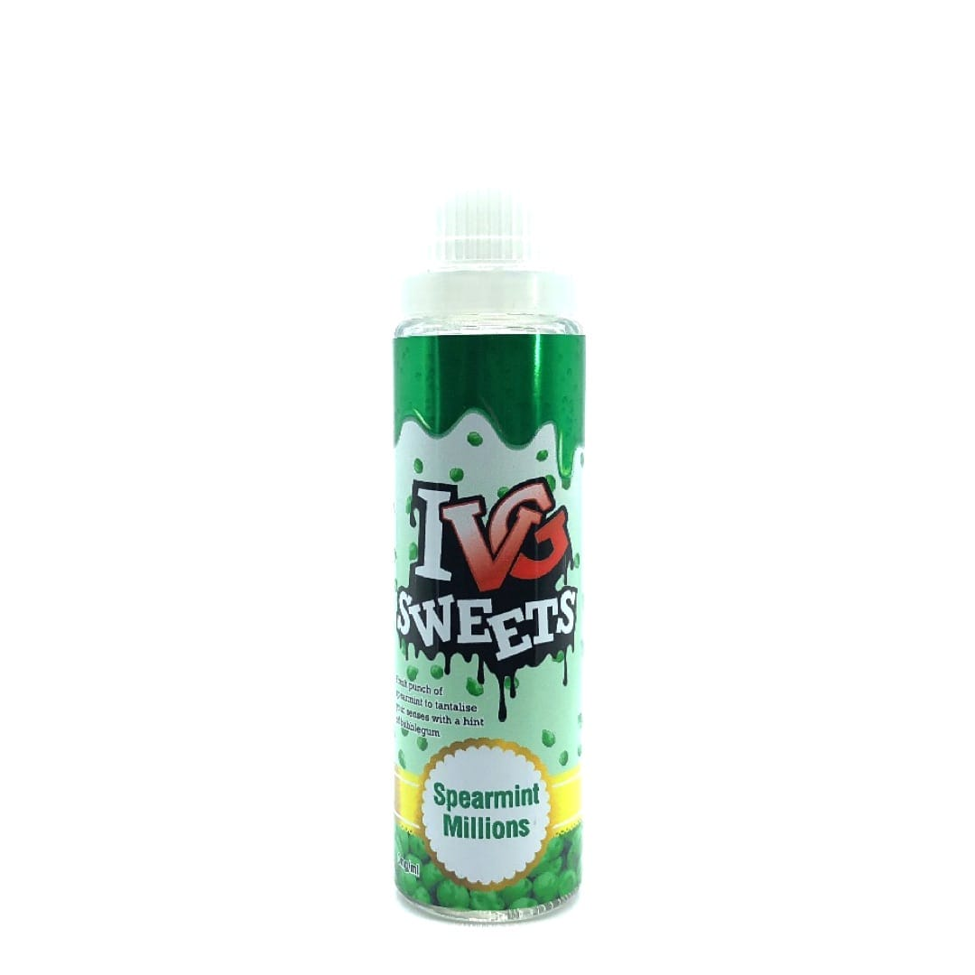 I VG Sweets Spearmint Millions Shake and Vape Liquid 50 ml
