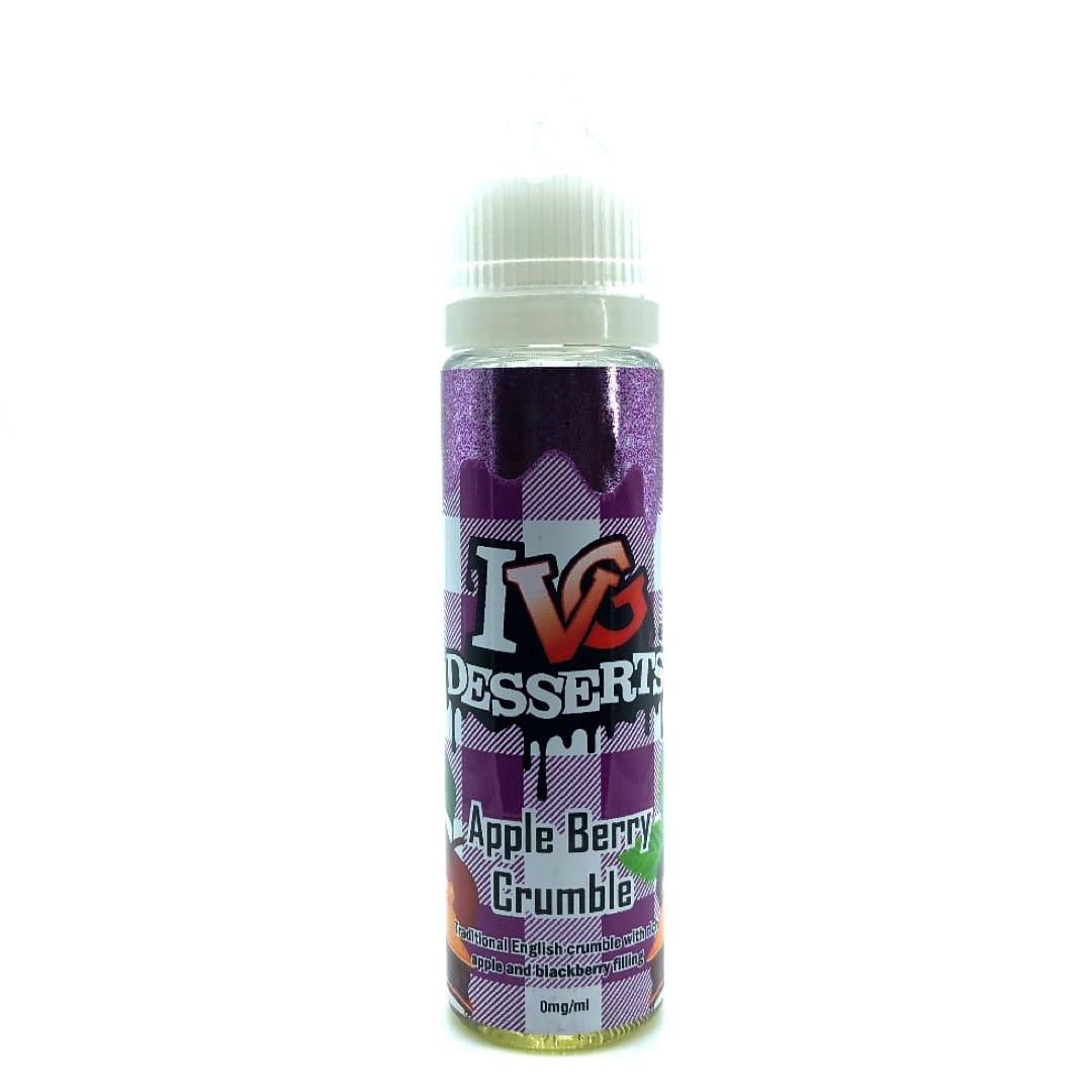 I VG Desserts Apple Berry Crumble Shake and Vape Liquid 50 ml