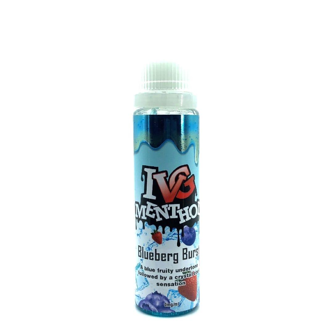 I VG Menthol Blueberg Burst Shortfill Liquid 50 ml für 60 ml