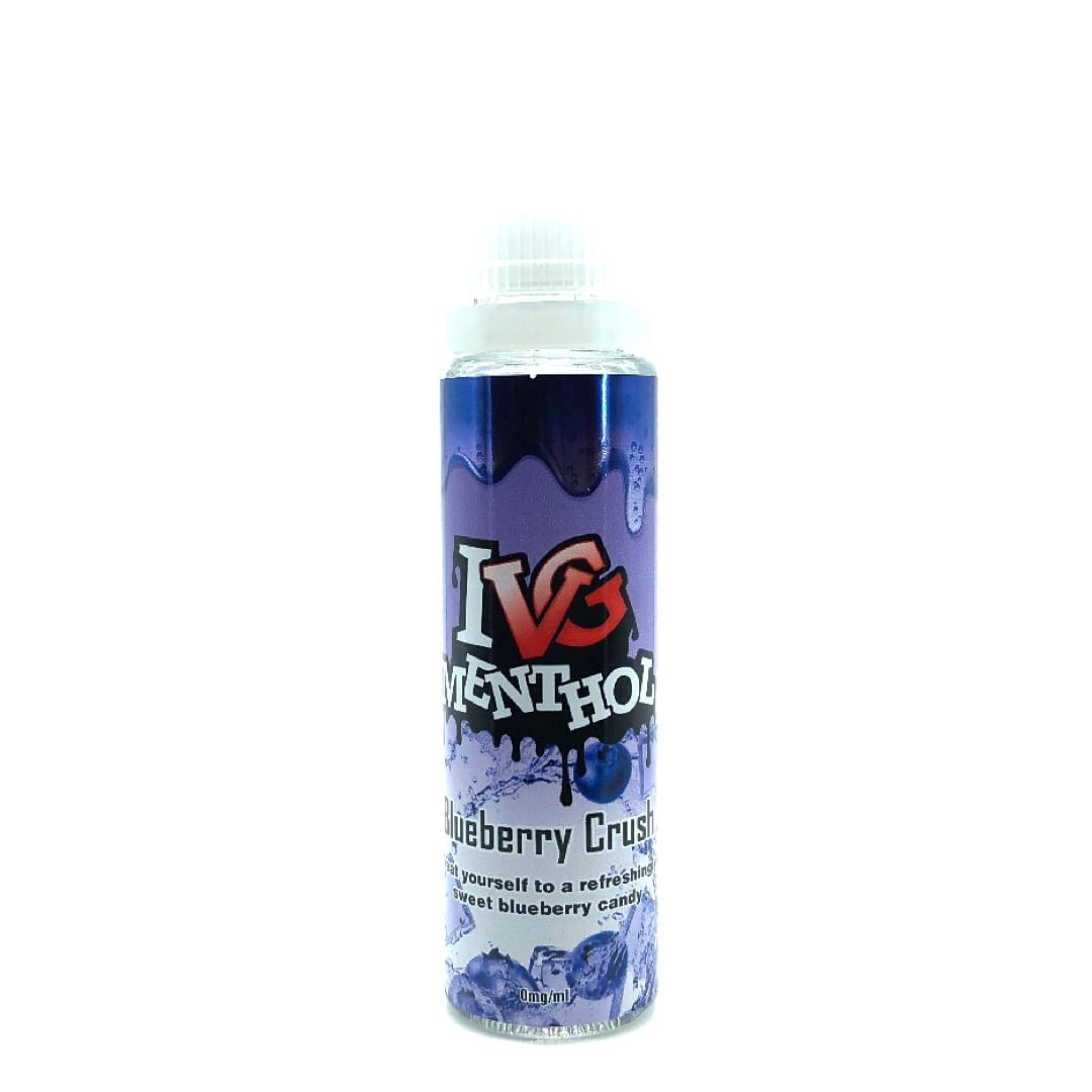 I VG Menthol Blueberry Crush Shortfill Liquid 50 ml für 60 ml