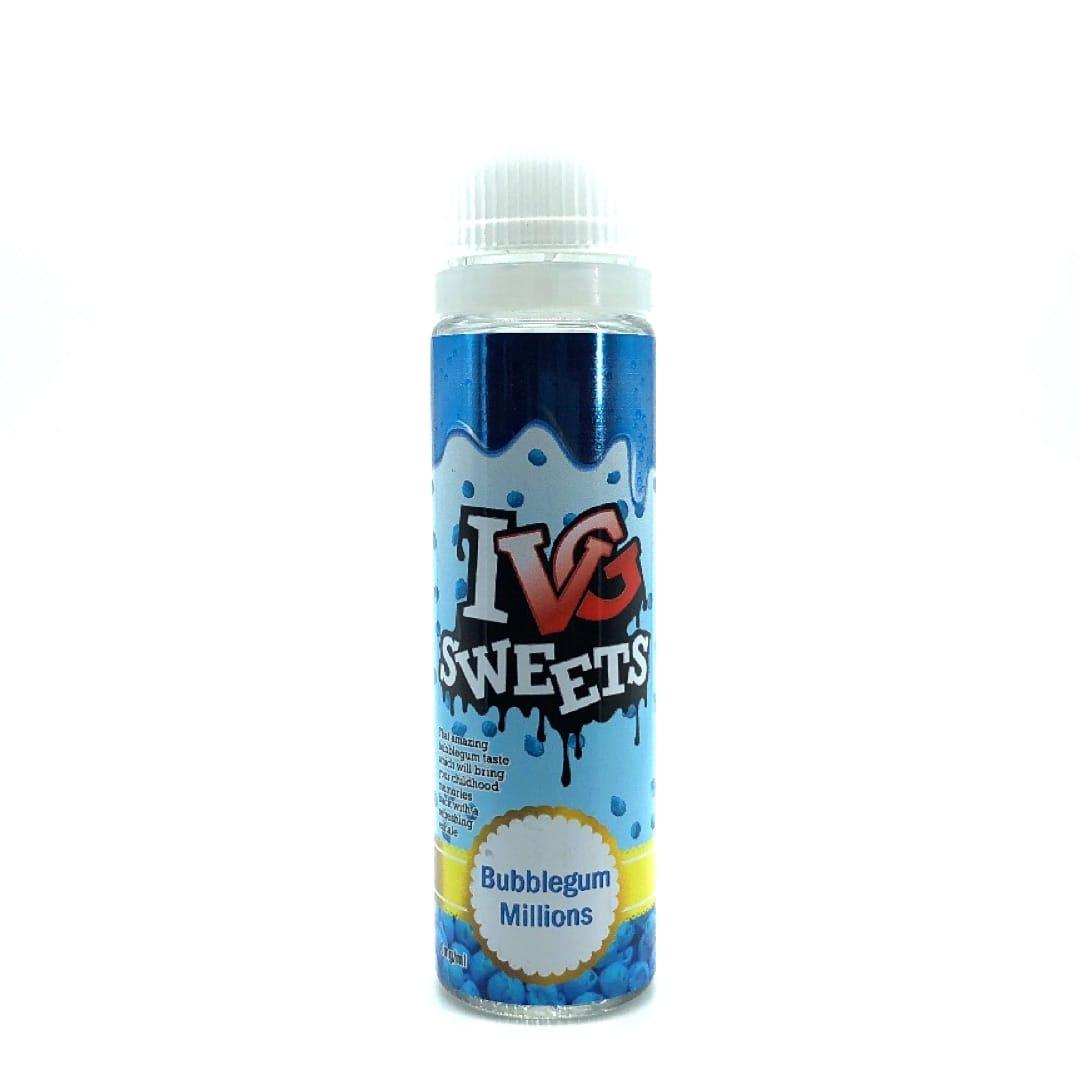 I VG Sweets Bubblegum Millions Shake and Vape Liquid 50 ml