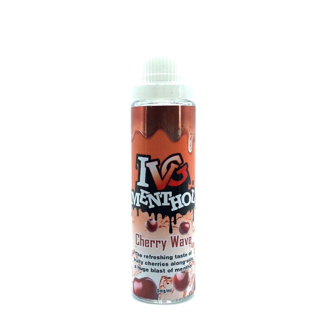 I VG Menthol Cherry Waves Shake and Vape Liquid 50 ml
