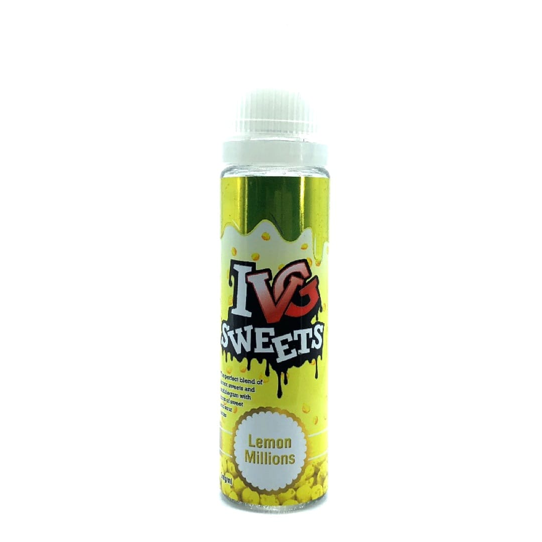 I VG Sweets Lemon Millions Shake and Vape Liquid 50 ml