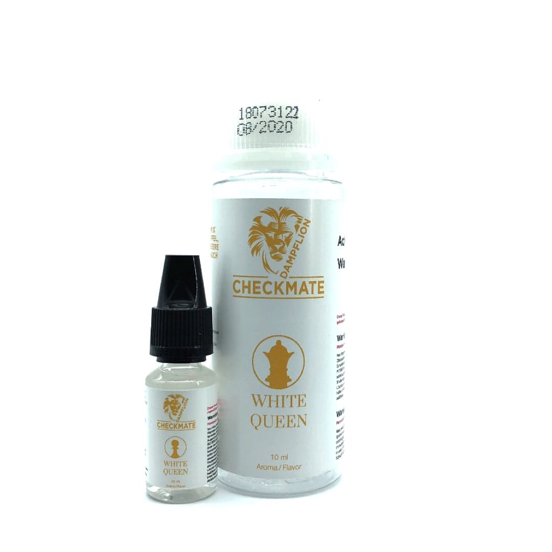 Dampflion Checkmate White Queen Aroma 10 ml für 120 ml