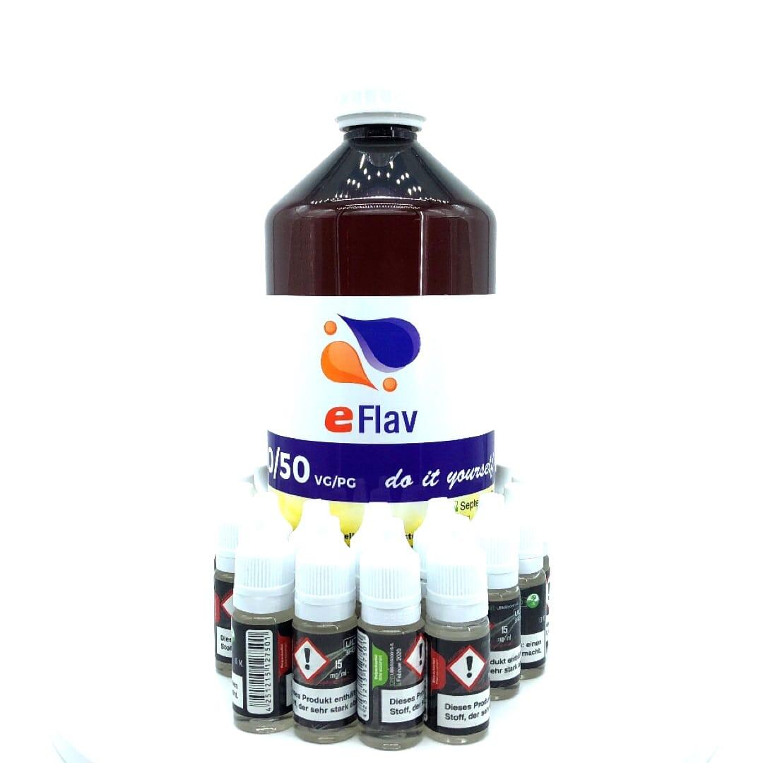 eFlav Basen Bundle 1000 ml 3 mg by Ultrabio