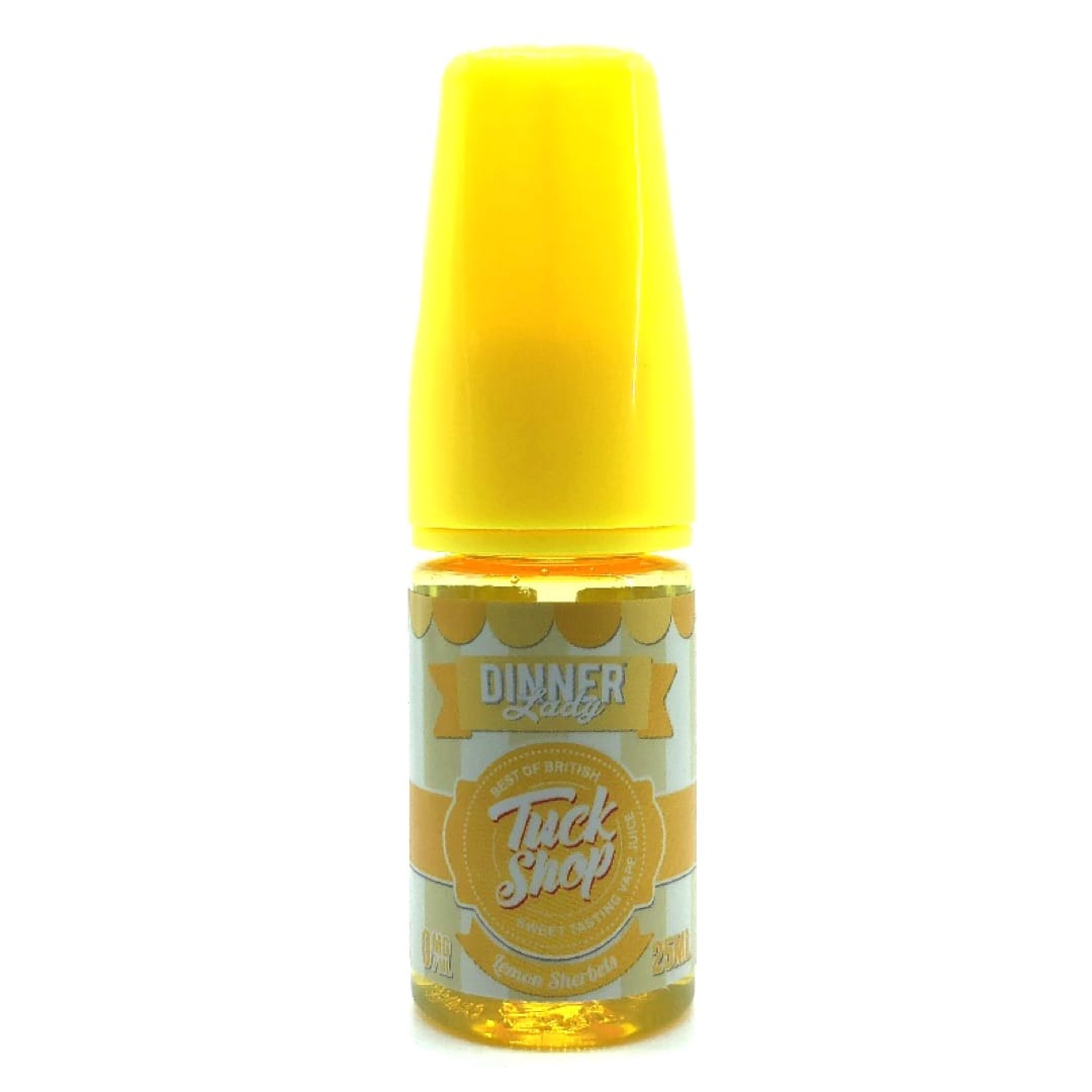 Dinner Lady Tuck Shop Lemon Sherbets Shortfill Liquid 25 ml für 30 ml