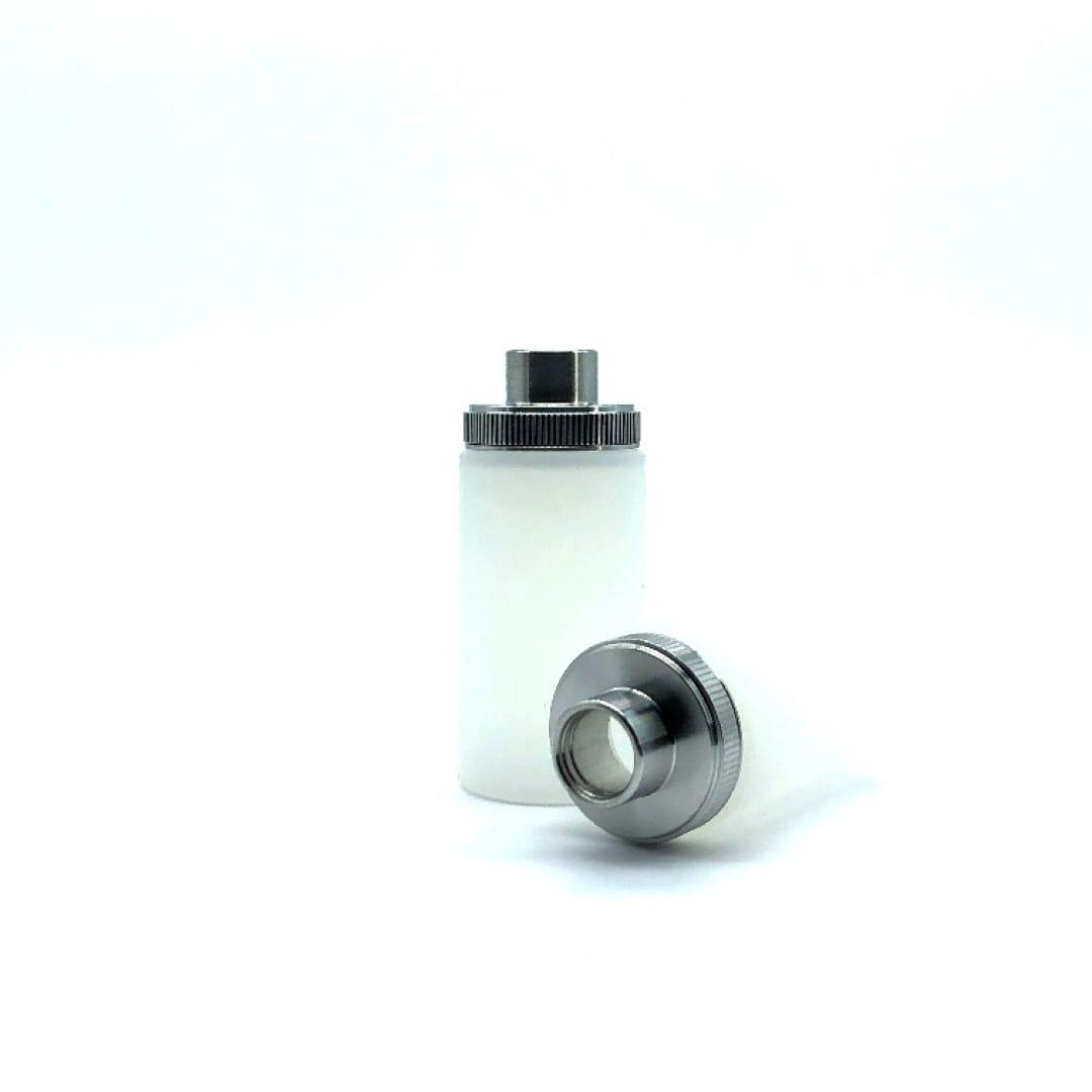 Wismec Silikon Flasche für Luxotic 6.8 ml weiss 2er Pack
