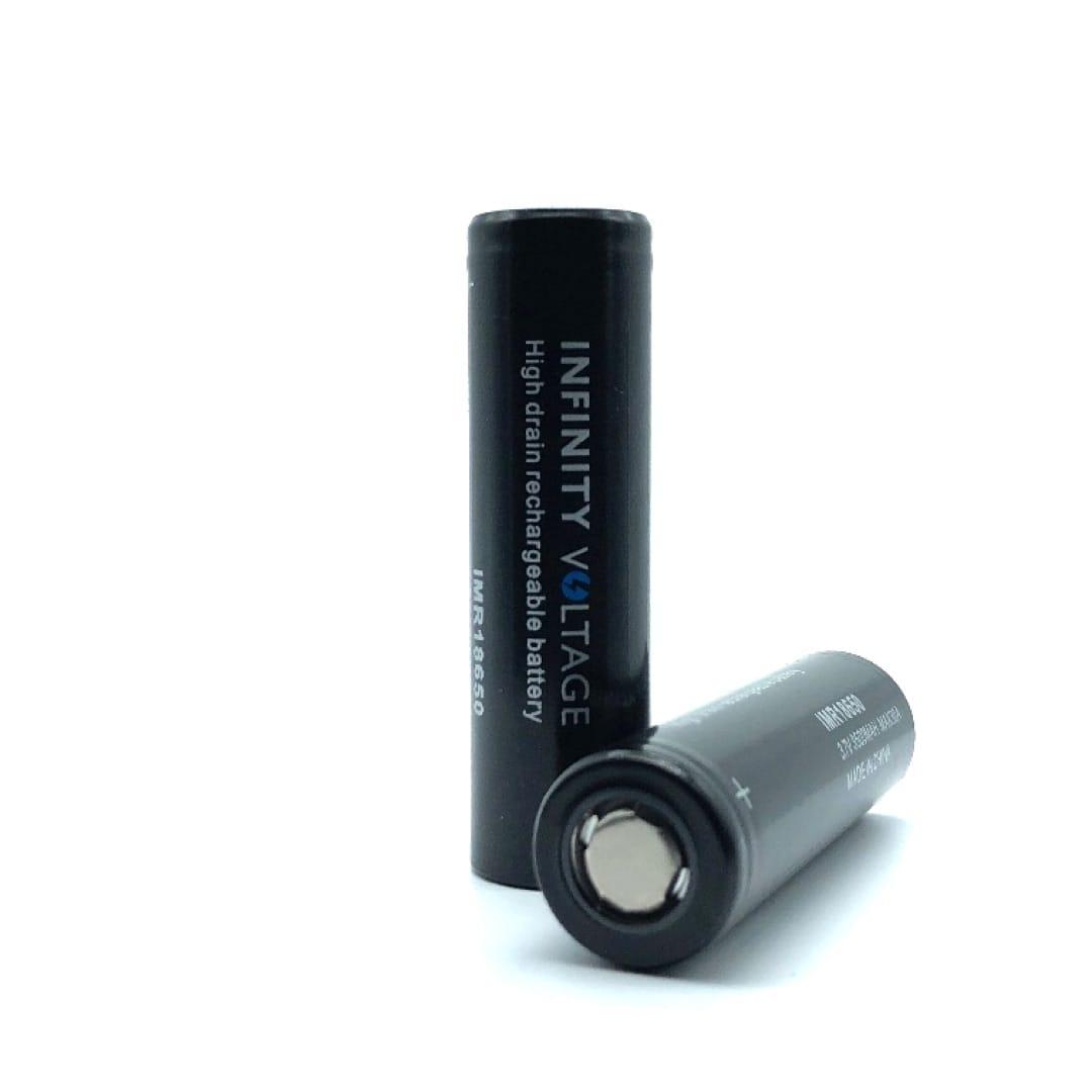 Infinity Voltage 18650er Li-Ion Akkuzelle 30 Ampere 3500 mAh 2er-Pack mit Box