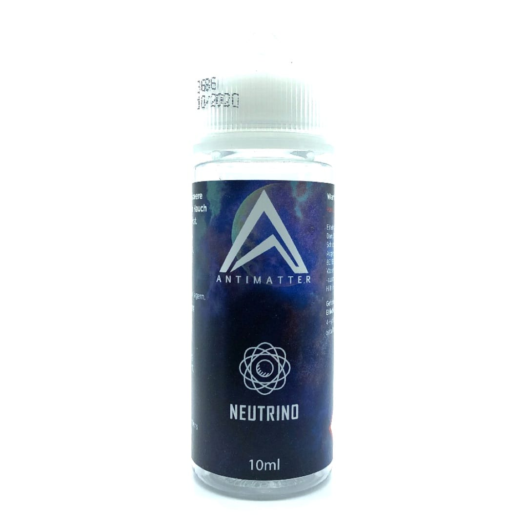 Antimatter Neutrino Longfill Liquid 10 ml für 120 ml by MustHave
