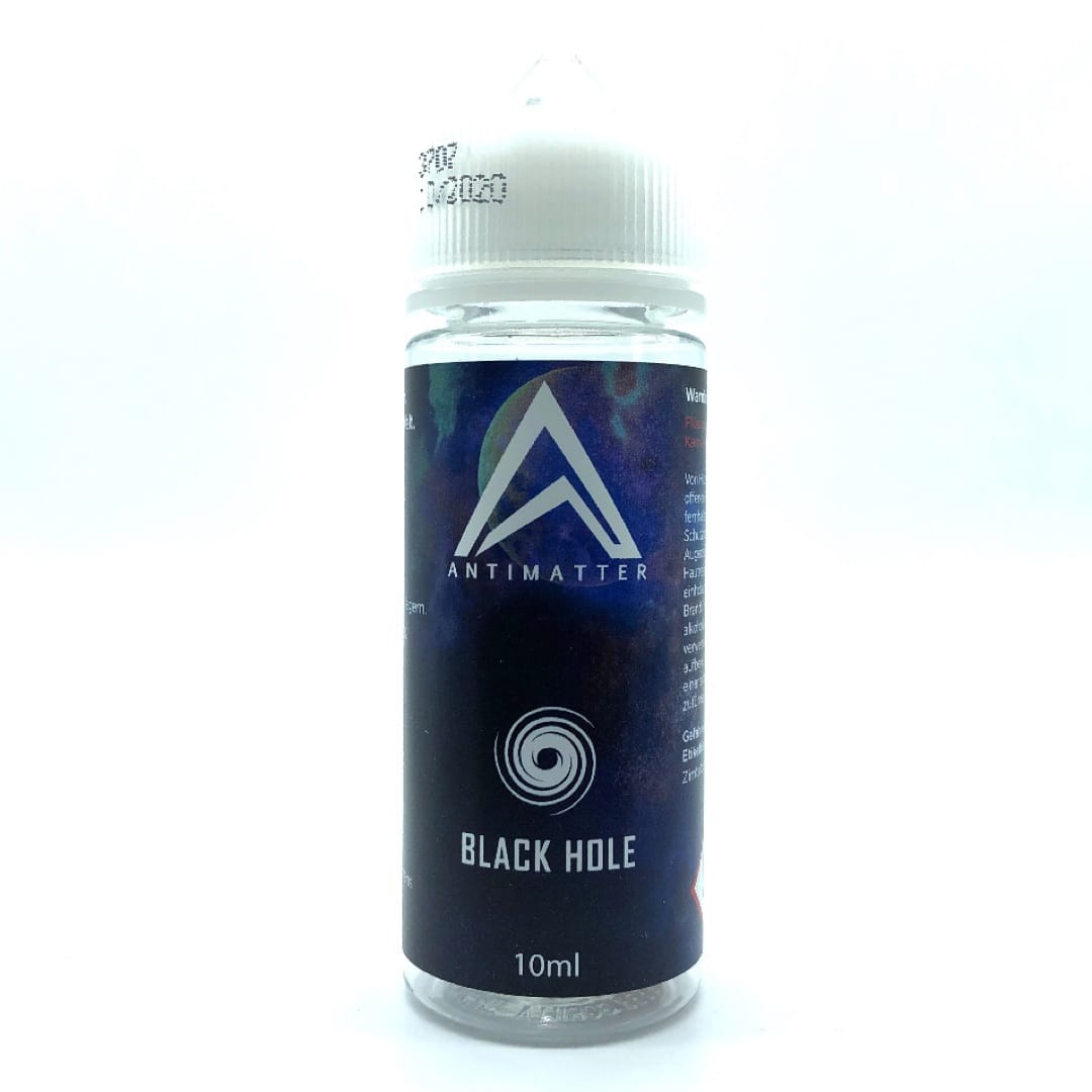 Antimatter Black Hole Longfill Liquid 10 ml für 120 ml by MustHave
