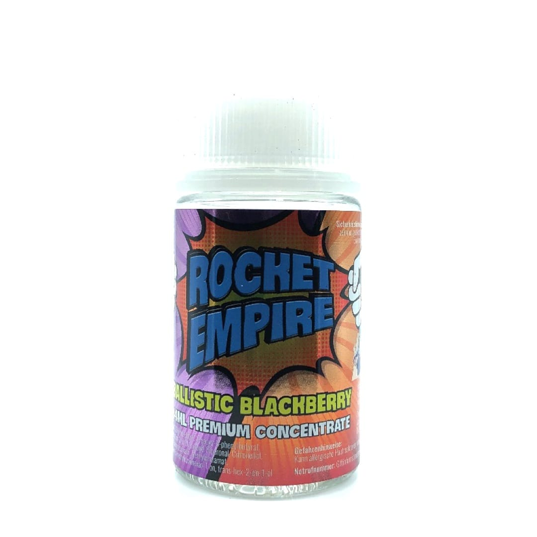 Rocket Empire Ballistic Blackberry Longfill Liquid 14 ml für 75 ml