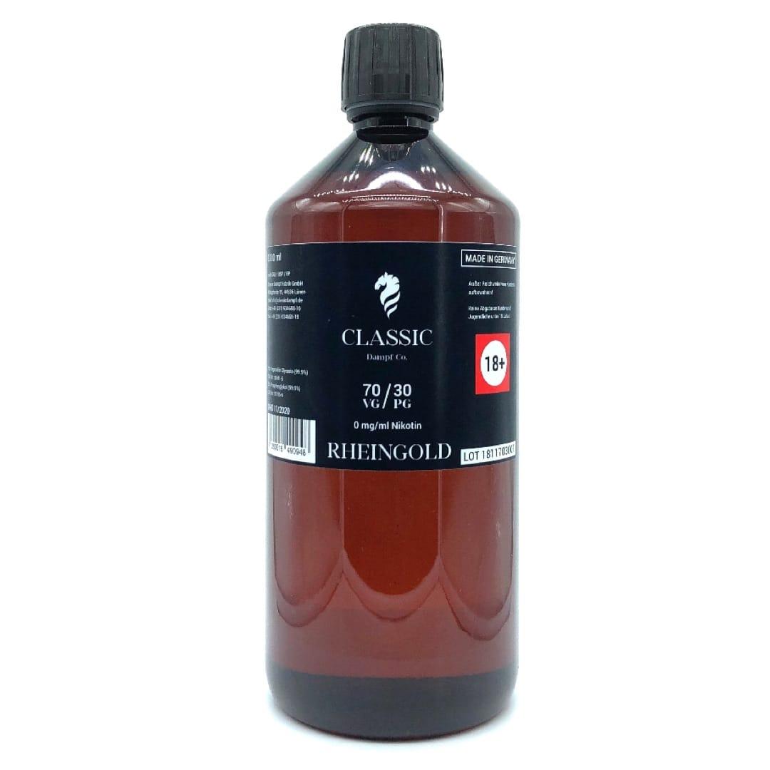 Classic Dampf Basis Rheingold 70/30 1000 ml