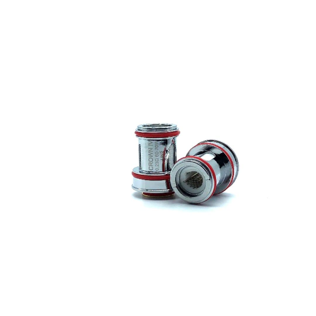 Uwell Crown 4 Verdampferköpfe Dual SS904L 0.2 / 0.4 Ohm 0.25 Sieb / UN2 Sieb 0.23 Ohm 4er Pack