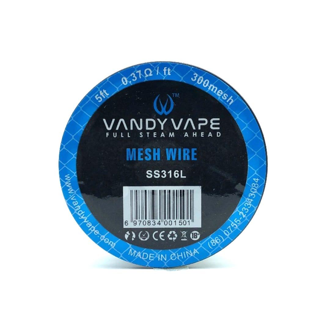 Vandy Vape Sieb Wickeldraht SS316 300er Sieb 0.37 Ohm