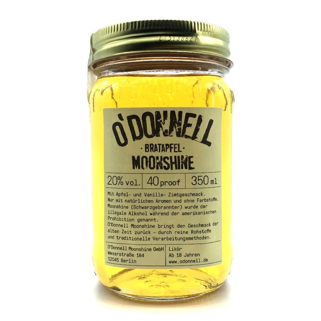 O`Donnell Moonshine Likör Bratapfel 20% vol 350 ml