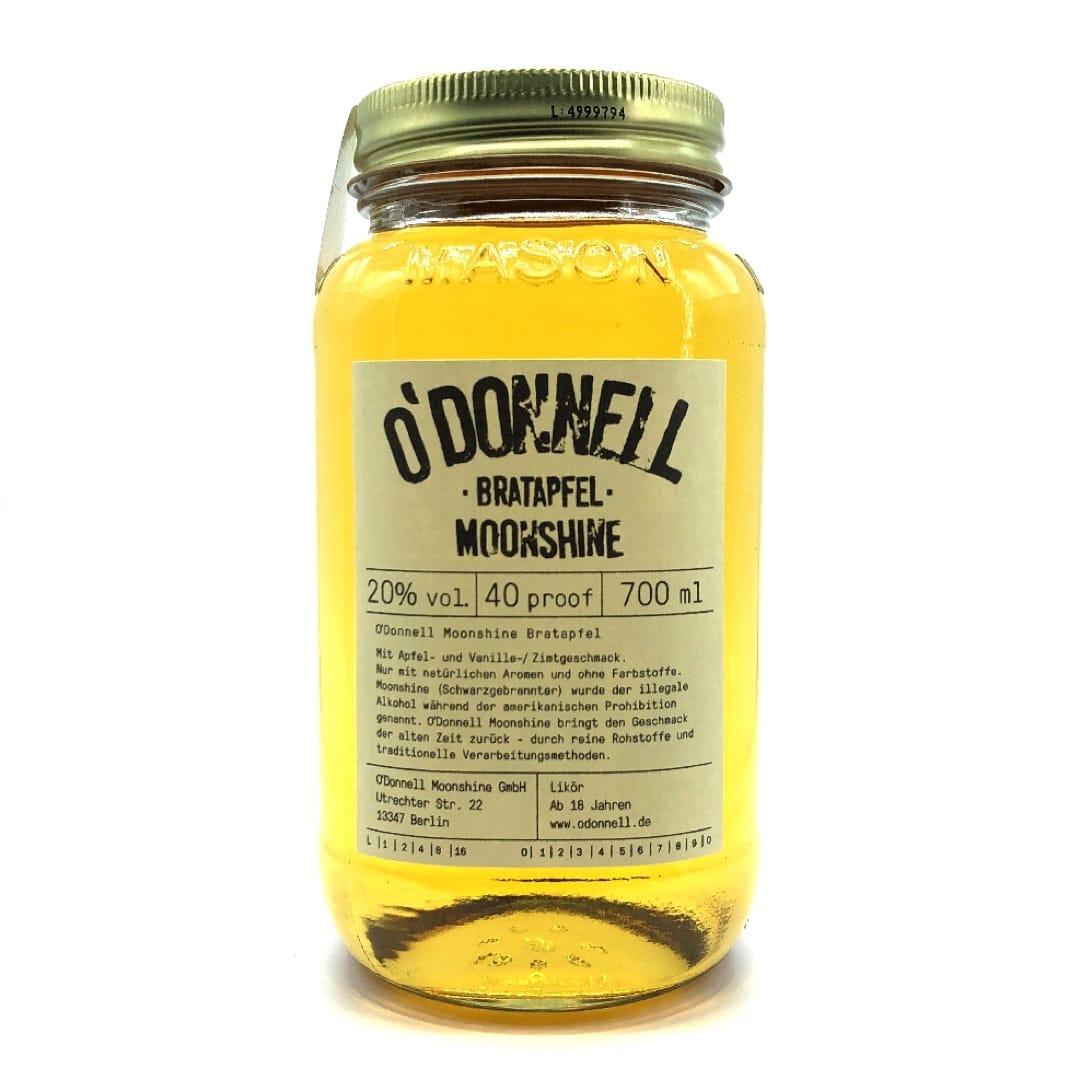 O`Donnell Moonshine Likör Bratapfel 20% vol 700 ml