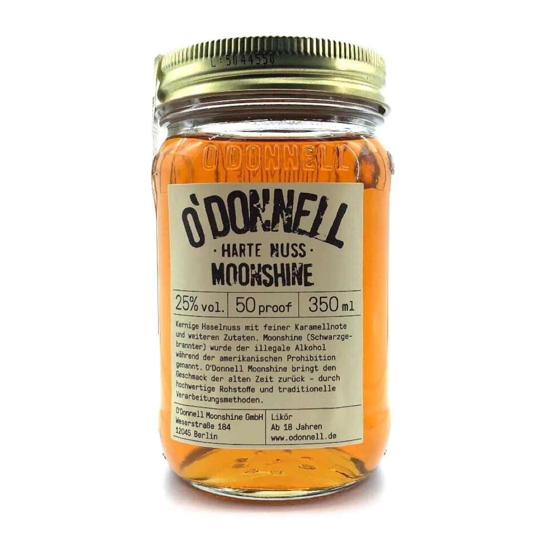 O`Donnell Moonshine Likör Harte Nuss 25% vol 350 ml