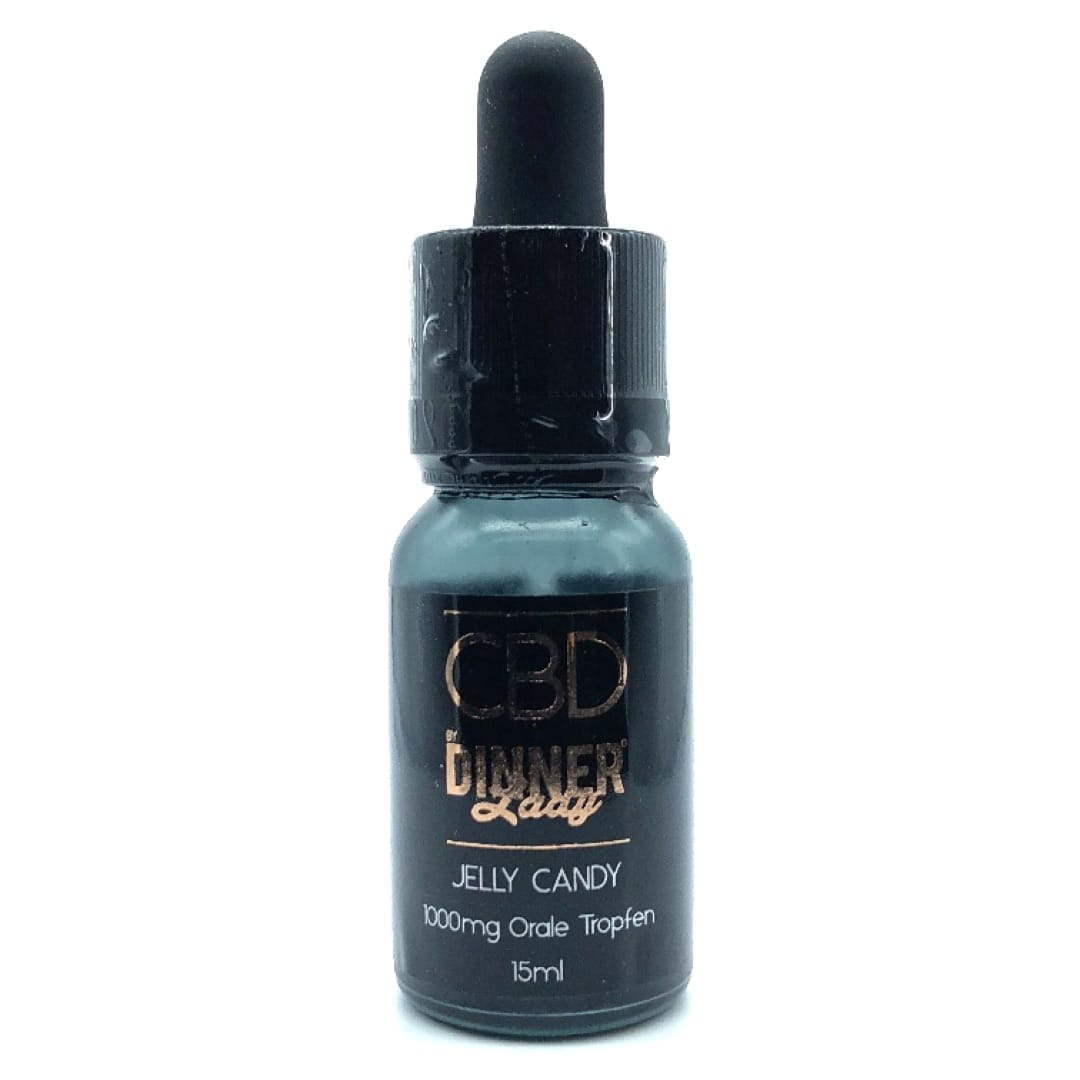 Dinner Lady CBD Oral Drops Jelly Candy 1000 mg 15 ml