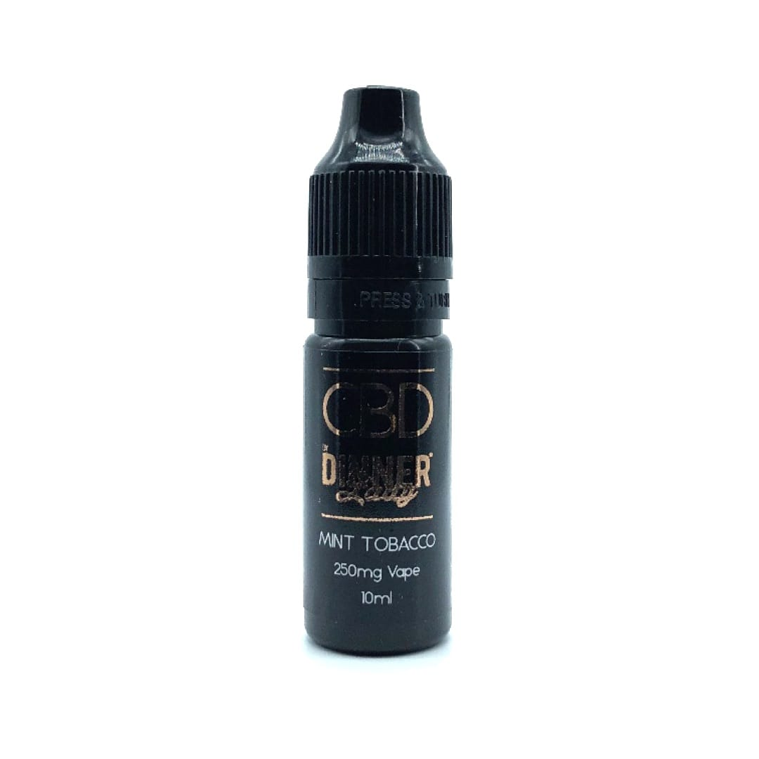 Dinner Lady CBD Liquid Mint Tobacco 250 mg 10 ml