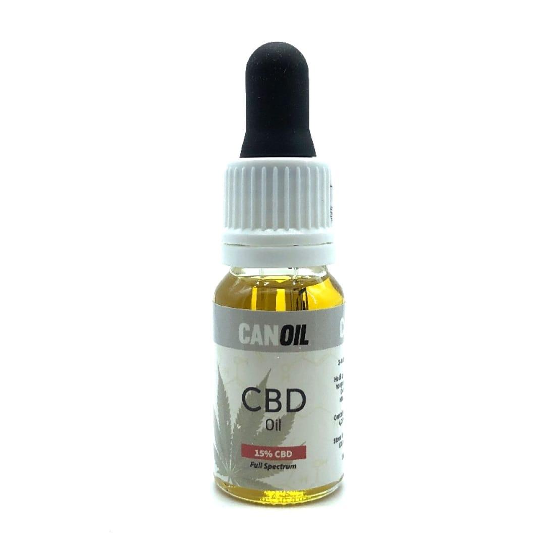 Canoil CBD Öl 15% (1500 mg) Full Spectrum CBD mit Olivenöl 10 ml