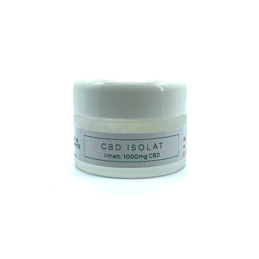 Breathe Organics Premium CBD Isolat/Kristalle 1000 mg