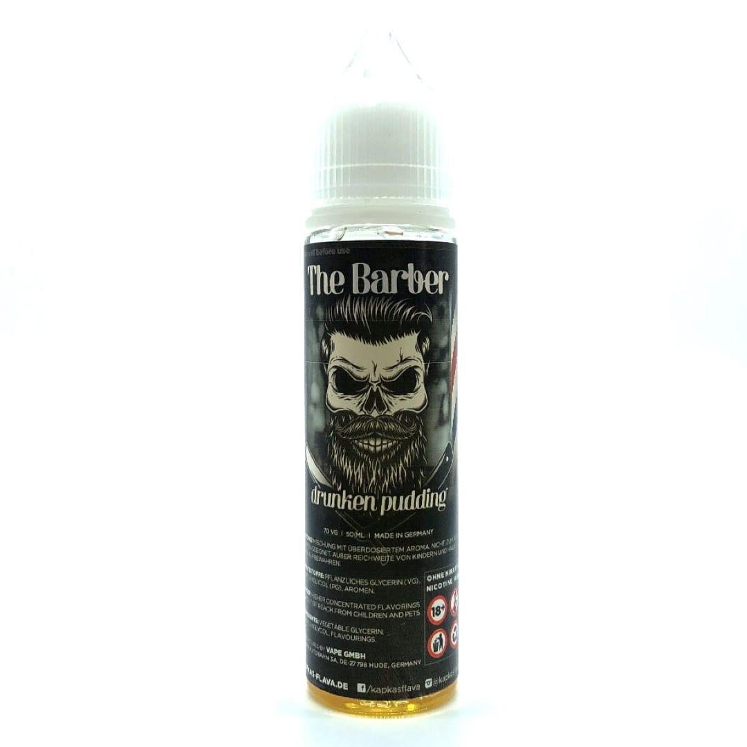 The Barber Drunken Pudding Shortfill Liquid 50 ml für 60 ml