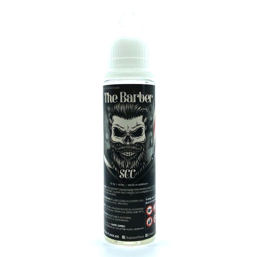 The Barber SCC (Strawberry Coconut Cream) Shortfill Liquid 50 ml für 60 ml