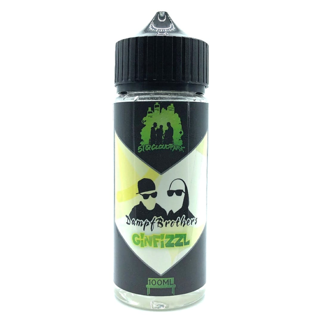 510Cloudpark GinFizzle Shortfill Liquid by DampfBrothers 100 ml für 120 ml