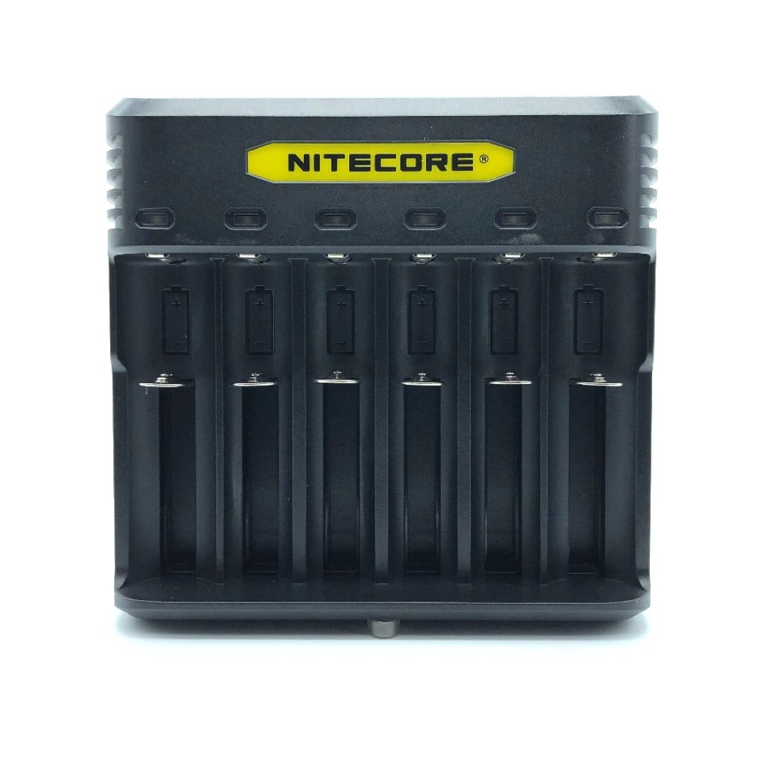 Nitecore Quick Charger Q6 6-Schacht-Schnellladegerät