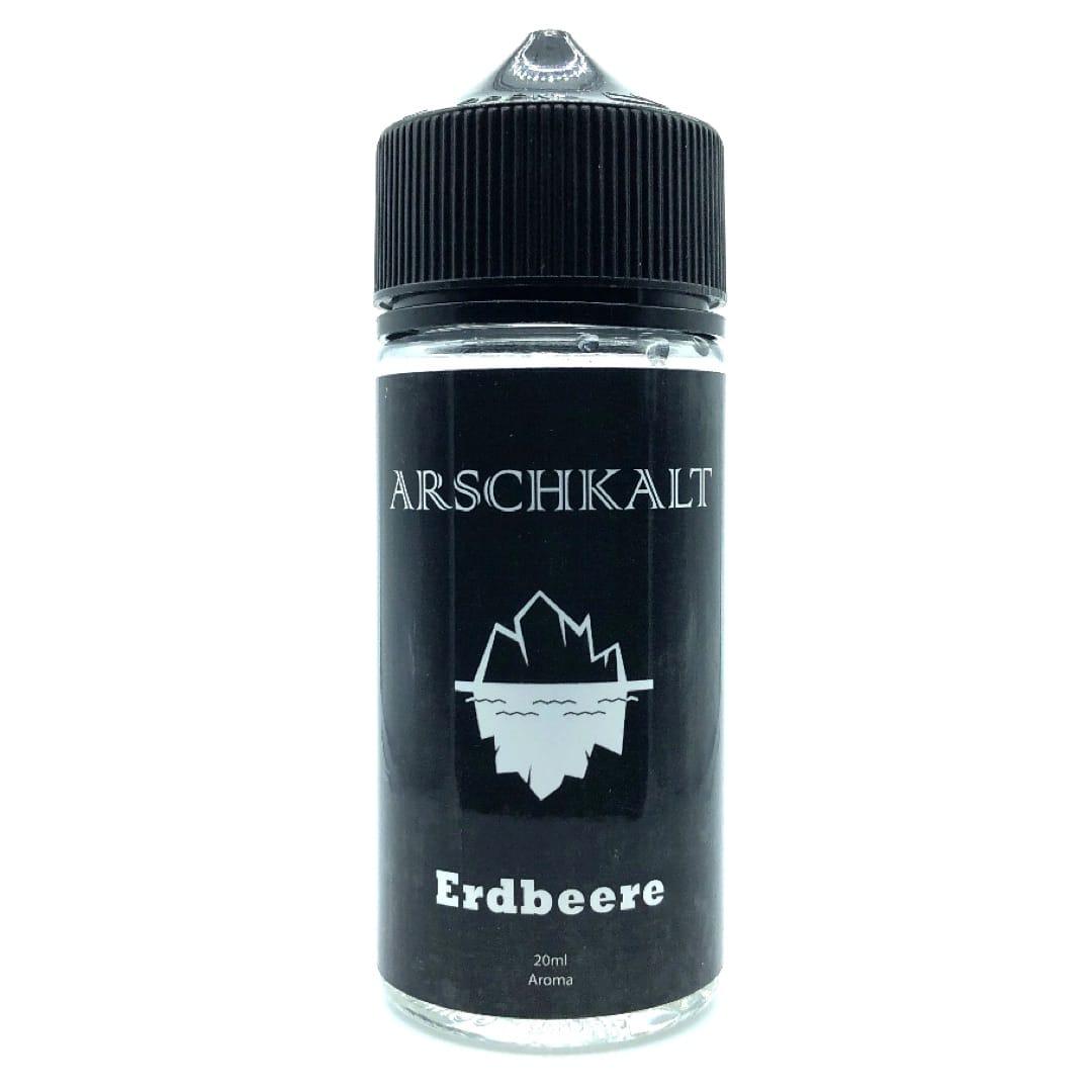 Art of Smoke Arschkalt Erdbeere Longfill Aroma 20 ml für 100 ml