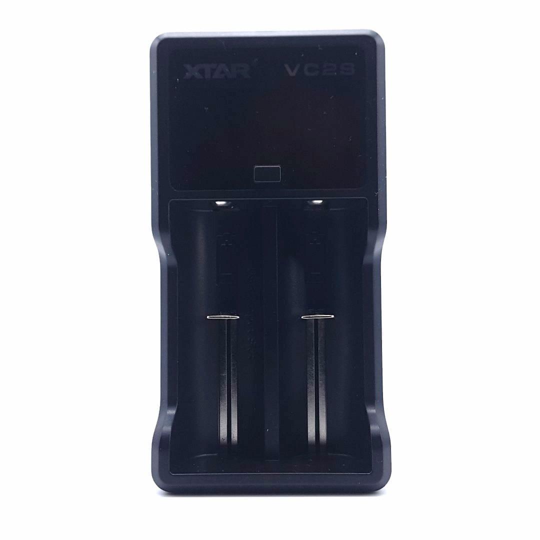 Xtar VC2S 2-Schacht USB-Ladegerät