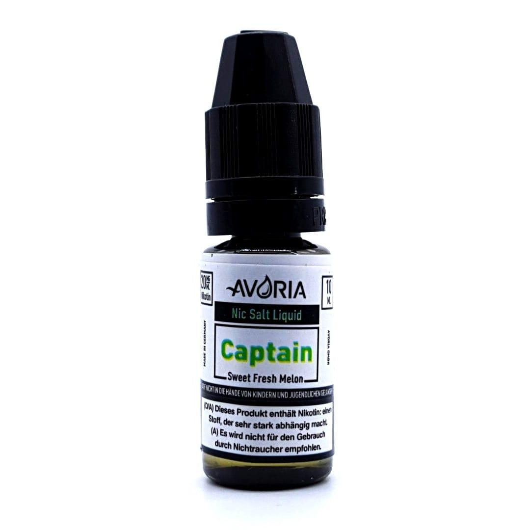 Avoria Captain Nic Salt eLiquid 20 mg 10 ml