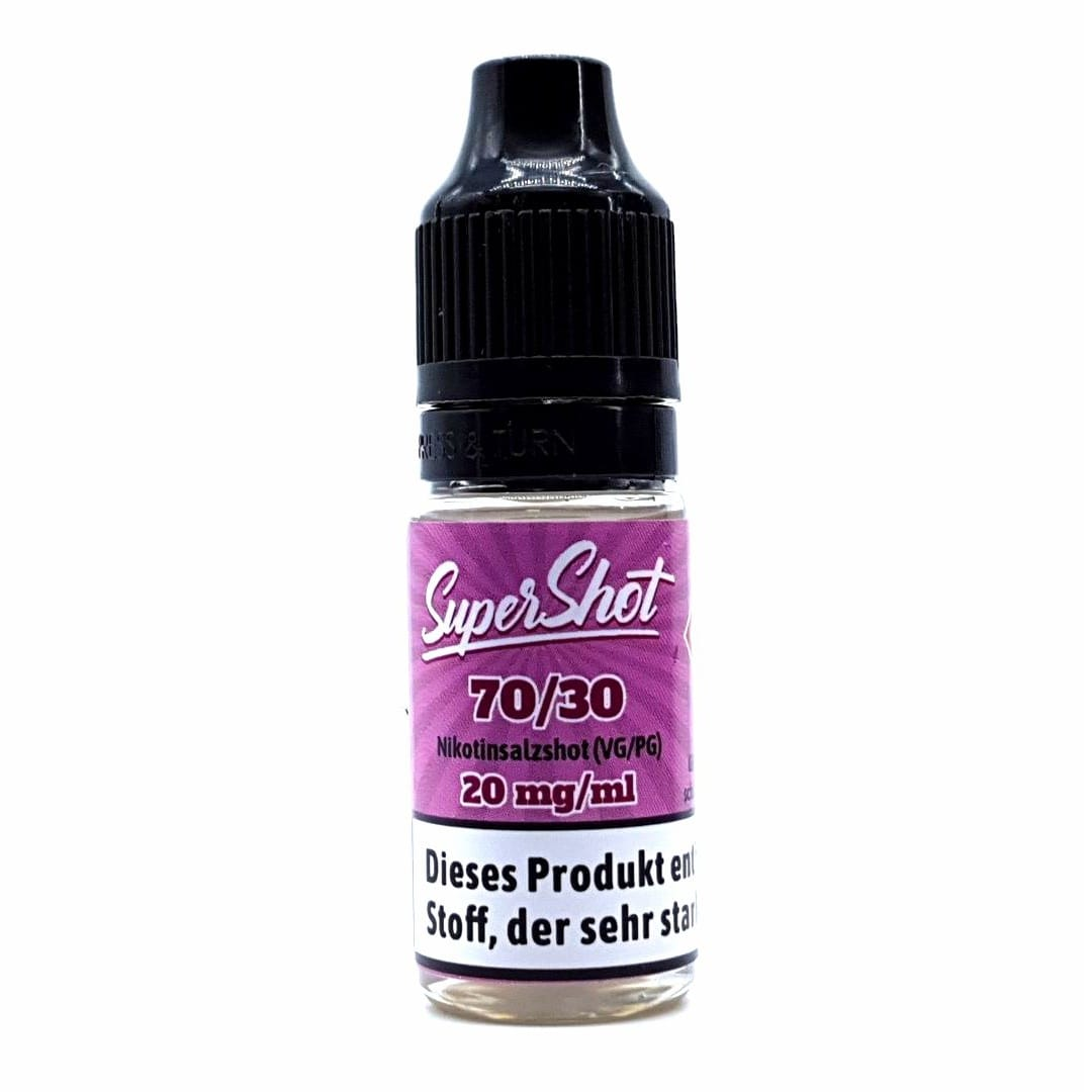 fluid Gourmet-Liquids Supershot Nikotinsalzshot 70/30 10 ml 20 mg