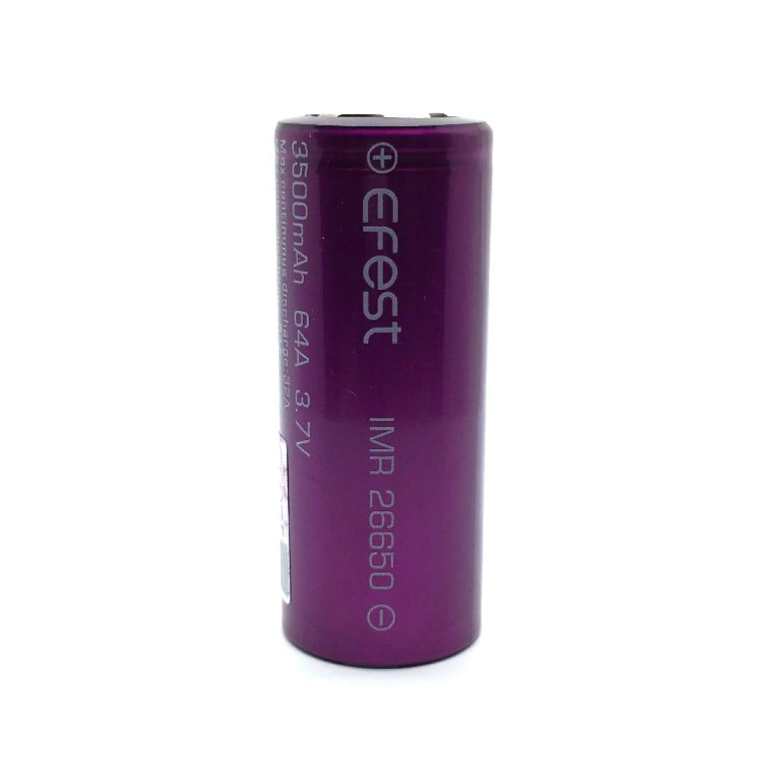 Efest IMR26650 26650er Li-Ion Akkuzelle 32 Ampere 3500 mAh