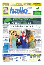 Hallo Wochenende Ausgabe 200919