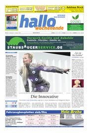 Hallo Wochenende Ausgabe 201017